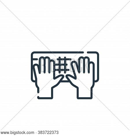 input icon isolated on white background from programming collection. input icon trendy and modern in