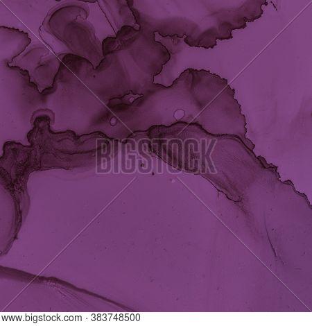 Burgundy Wine Background. Watercolour Maroon Pattern. Modern Gradient Splash. Bright Ink Banner. Alc