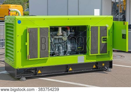 Auxiliary Electric Power Diesel Generator Emergency Equipment
