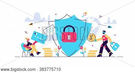 Internet Security Concept For Web Page, Banner, Presentation, Social Media, Documents, Cards, Poster