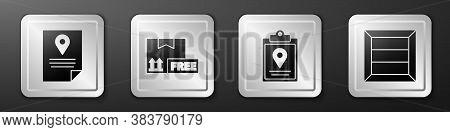 Set Document Tracking Marker System, Cardboard Box With Free Symbol, Document Tracking Marker System