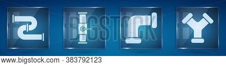 Set Industry Metallic Pipe, Industry Pipe And Valve, Industry Metallic Pipe And Industry Metallic Pi