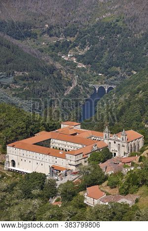 Ribeira Sacra. Santo Estevo Monastery, Sil River. Ourense, Galicia. Spain