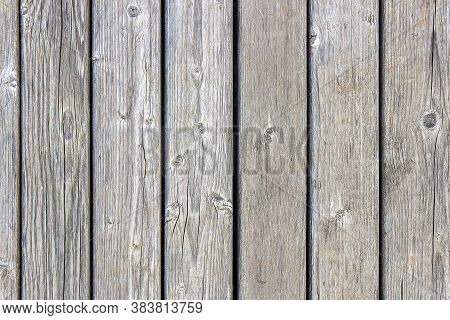 Magnificent Background Of Structural Yew Wood Planks.