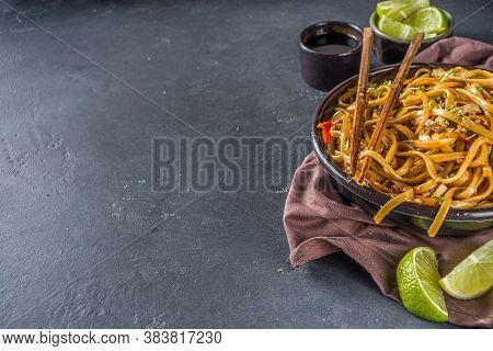 Asian Style Udon Noodles