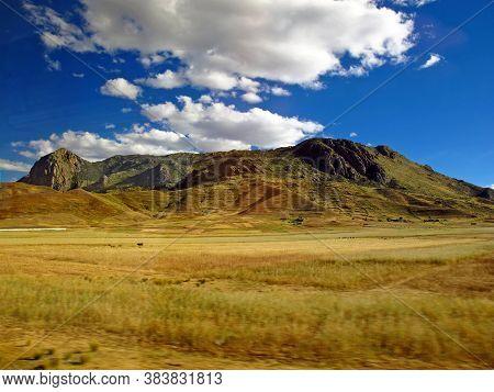 Altiplano In Andes, Peru, South America