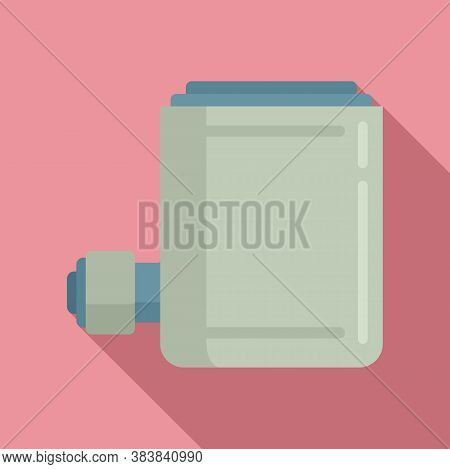 Air Jack-screw Icon. Flat Illustration Of Air Jack-screw Vector Icon For Web Design