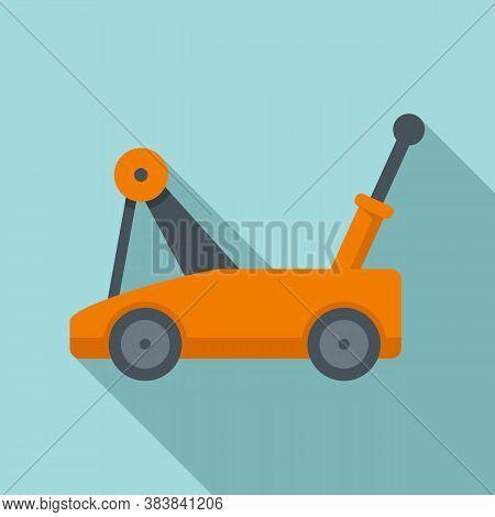 Warehouse Jack-screw Icon. Flat Illustration Of Warehouse Jack-screw Vector Icon For Web Design