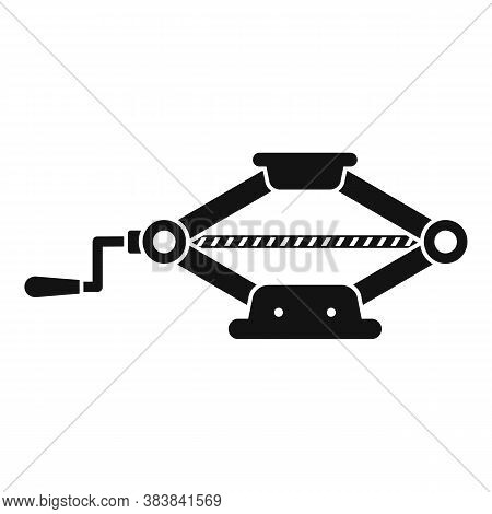 Manual Jack-screw Icon. Simple Illustration Of Manual Jack-screw Vector Icon For Web Design Isolated
