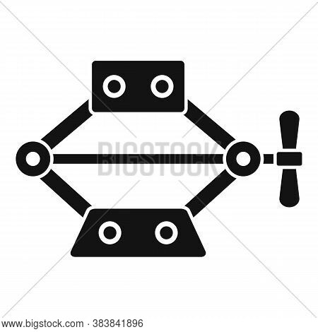 Power Jack-screw Icon. Simple Illustration Of Power Jack-screw Vector Icon For Web Design Isolated O