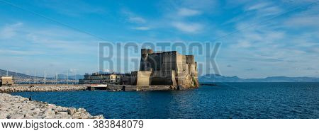 Famous Castel dell Ovo in Naples
