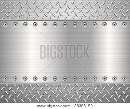 Diamond Metal Background 2