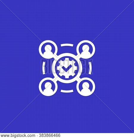 Project Execution, Business Vector Icon, Eps 10 File, Easy To Edit