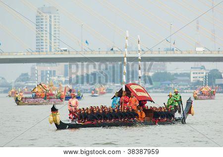 Royal Barge Procession, Bangkok 2012