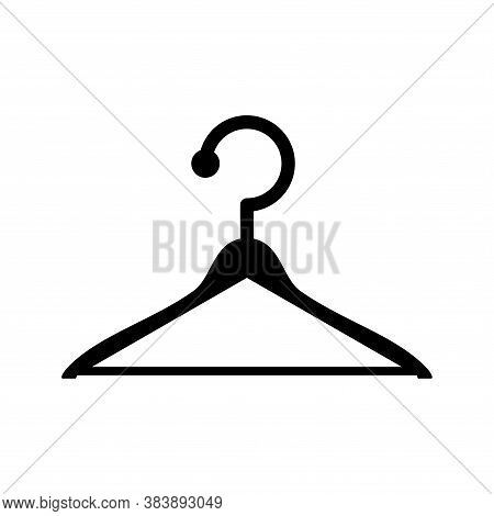 Hanger Clothes Icon Vector. Hanger Clothes Icon Simple And Modern For App, Web And Design. Hanger Cl
