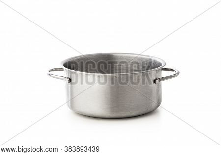 Cooking Pot Isolated On A White Background