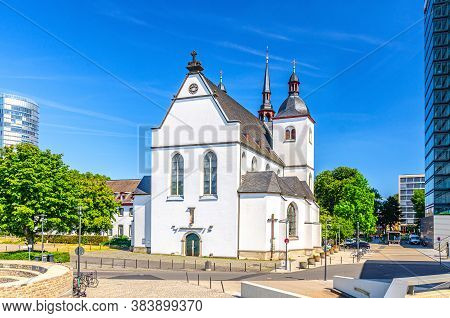 Deutz Abbey Benedictine Monastery Or Alt Saint Heribert Greek Orthodox Church Building In City Centr