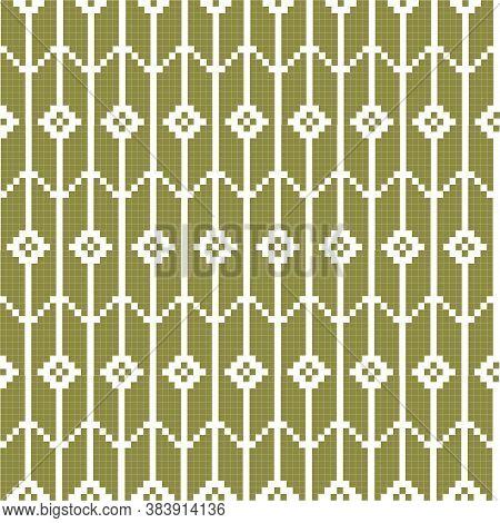 Winter Fairisle Design. Seamless Pattern. Vector Illustration For Holiday Background.