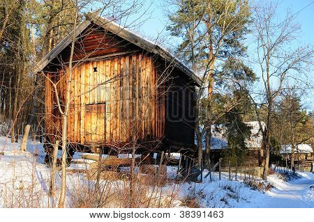 Old Norwegian Storehouse