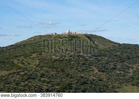 Forte Da Nossa Senhora Da Graca Fortress View From Elvas In Alentejo, Portugal