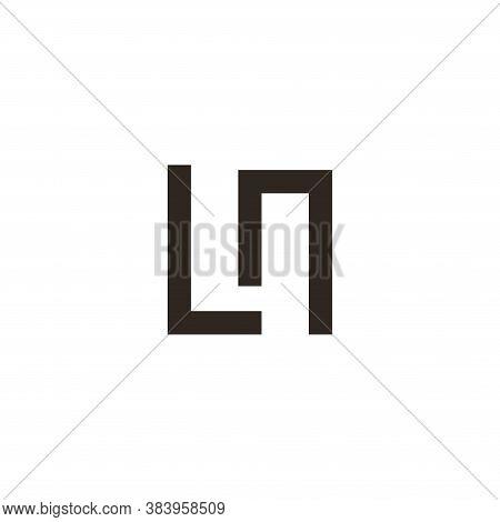 Letter L N Logo Template Design Vector Illustration