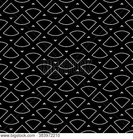 Triangular Outlines Wallpaper. Repeated Geometrical Figures Background. Seamless Surface Pattern Des