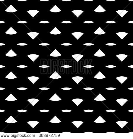 Triangular Blocks And Dashed Lines Wallpaper. Repeated Geometrical Figures Background. Seamless Surf