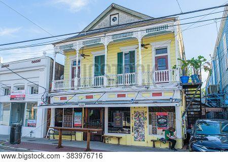 New Orleans, Louisiana/usa - 6/29/2020: The Maple Leaf Bar In Uptown Neighborhood