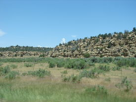Rocky Hill In New Mexico