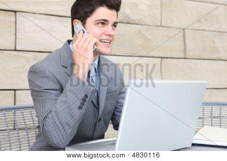 Business Man Communication