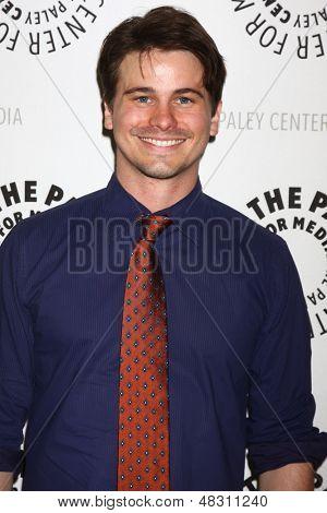 LOS ANGELES - JUL 16:  Jason Ritter arrives at