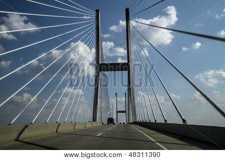 Sidney Lanier Cable Bridge Jekyll Island Georgia