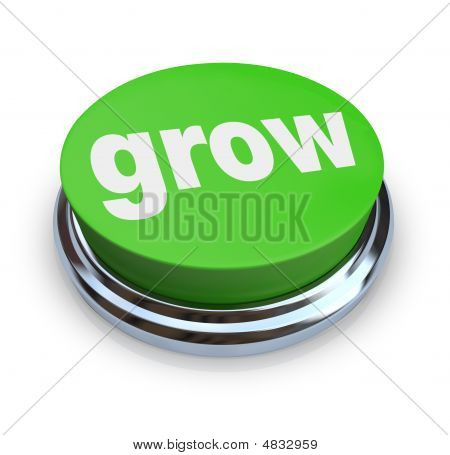 Grow Button - Green