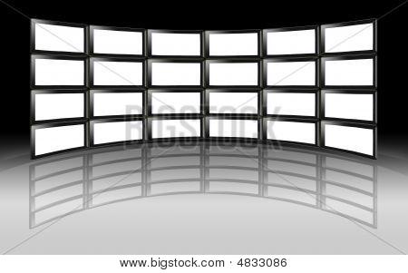 Tv Wall Lcd Plasma Televisions