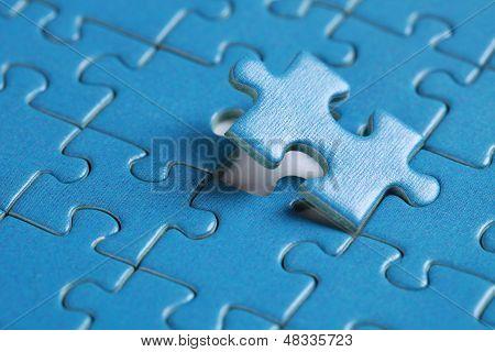 Final Piece Of Jigsaw