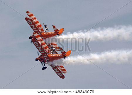 Biplane Wing Walkers Display