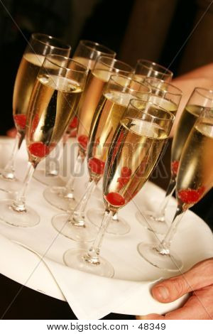 Champagne And Cherries