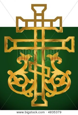 Holy Cross With Ornament
