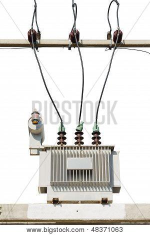 Ölgeschützter Transformator