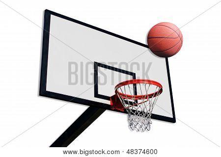 A Panel Of Basketball