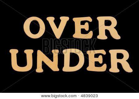 Wooden Word Overunder