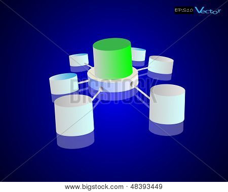 Data warehouse and concept of repository connection
