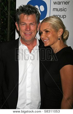David Foster and Sara Foster at the Warner Music Group 2007 Grammy After Party. The Cathedral,  Los Angeles, CA. 02-11-07