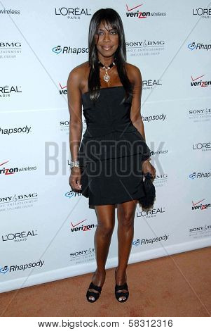 Natalie Cole at the 2007 Clive Davis Pre-Grammy Awards Party. Beverly Hilton Hotel, Beverly Hills, CA. 02-10-07