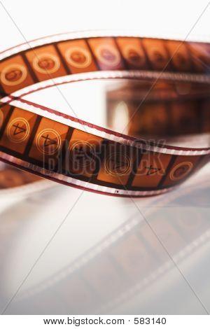 Strip Of Movie Film