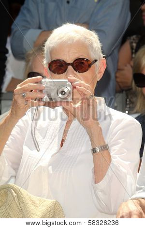 Betty Degeneres at the Ellen Degeneres Star on the Hollywood Walk of Fame Ceremony, Hollywood, CA 09-04-12