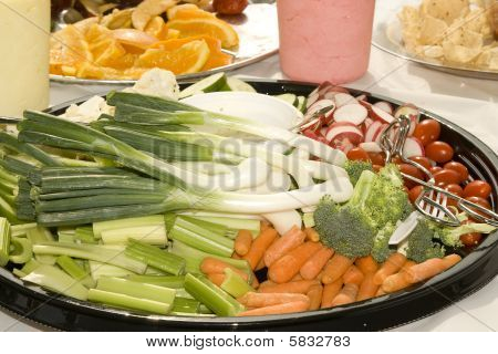Veggie Food Tray