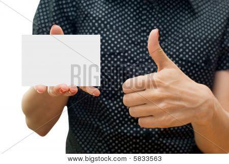 Emty Business Card