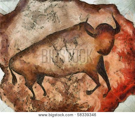 Bull A La Altamira