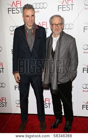Daniel Day Lewis and Steven Spielberg at the